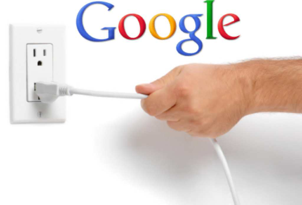 pull the plug on Google